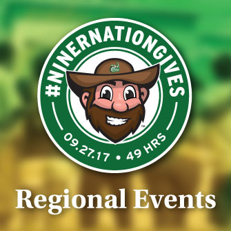 2017 #NinerNationGives Regional Events